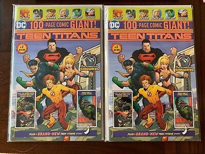 Teen Titans #1. DC. Walmart Giant Edition. 1st App Disruptor. NM Or Better. Hot!