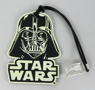 a019f61a6a55 DISNEY STAR WARS Darth Vader Luggage Backpack Name Id Tag - New ...