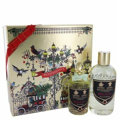 Authentic NIB Halfeti  By Penhaligon's Gift Set 3.4 Oz For Women