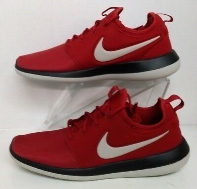 9132add40c5 NIKE ROSHE TWO Mens 844656-600 Gym Red Black Textile Running Shoes ...