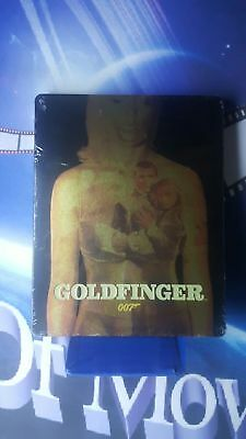 Goldfinger James Bond 007 Sean Connery STEELBOOK Blu-ray*nuovo