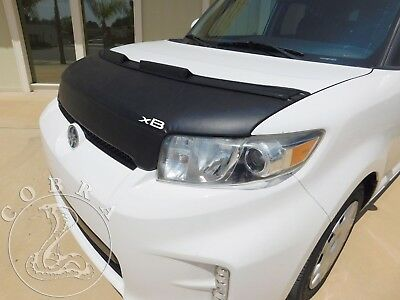 Car Bonnet Hood Bra + XB LOGO Fits Scion XB 08 09 2010 2011 2012 2013 2014 2015