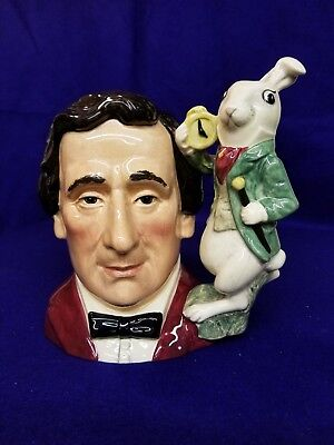 Royal Doulton Character Jug of the Year Lewis Carroll, Large D 7096