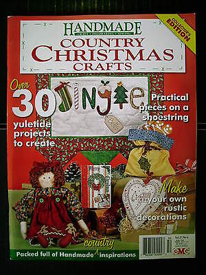 Handmade Vol 27 #4~Xmas~Quilts~Embroidery~Doll~Farm Wall-Hanging~Stockings~Swag