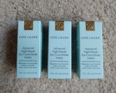 Estee Lauder Serum Advanced Night Repair Eye Concentrate Matrix 3x 5ml  °Neu