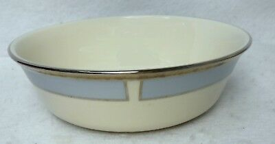"""LENOX china BLUE FROST pattern Cereal Dessert or All Purpose Bowl - 6-1/4"""""""