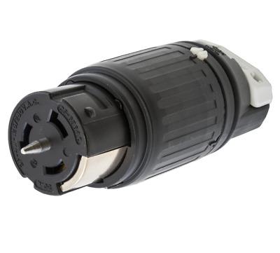 Locking Connector, Hubbell Wiring Device-Kellems, CS6364C