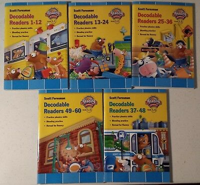 READING STREET 1ST Grade 1 Decodable Readers Stories 1 60 Great Extra Reading