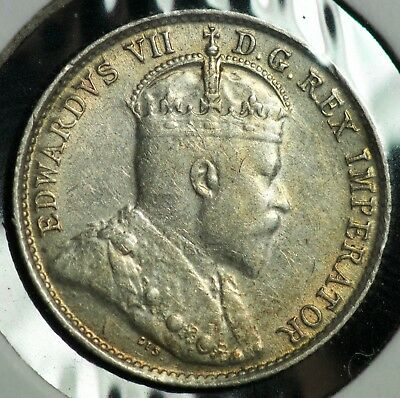 1907 Canada 5 C Five Cents Coin - #1