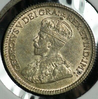 1920 Canada 5 C Five Cents Coin - #1