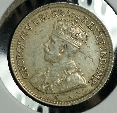 1919 Canada 5 C Five Cents Coin