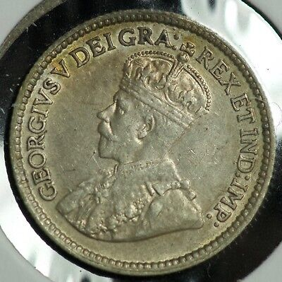1912 Canada 5 C Five Cents Coin - #2