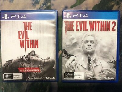 🎮 PS4 # The Evil Within + The Evil Within 2 ⚡️⚡️⚡️