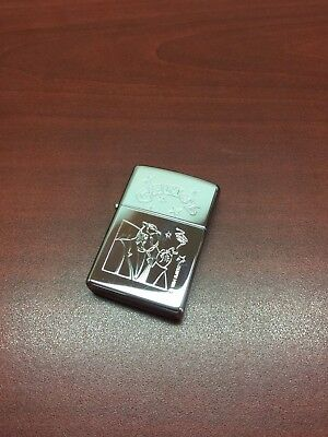 Vintage Zippo Camel Cigarettes Chrome Lighter Unused Unfired Sealed Sticker