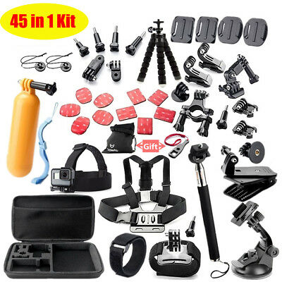 Sport Cameras Accessories Kit Mount For Gopro Go Pro Hero Sjcam Xiaomi Yi Eken