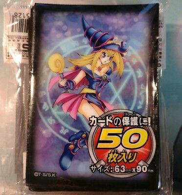 Dark Magician Girl 50 Yugioh Small Size Card Sleeves Deck Protector 62x89mm