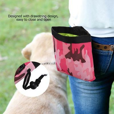 Pet Dog Puppy Walking Bag Treat Training Snack Pouch Pockets Bait Waist Storage