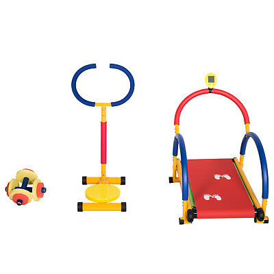 Kids Exercise Equipment Set Fun And Fitness Gyms Exercise Bike Twist