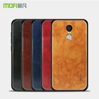 Mofi Pin Vintage Classical Faux Leather Case Cover for Xiaomi Redmi Note 4X