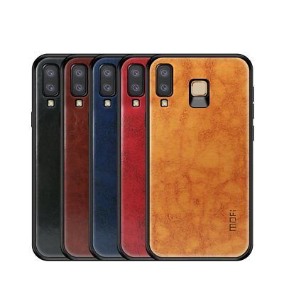 Mofi Vintage Classical Faux Leather Case Cover Samsung Galaxy A8 Star (A9 Star)