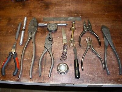 Excellent  mechanical hand Tools Lot14pc.snap-on,Klein,sweden L@@K!