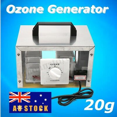 AU 20g Ozone Generator Disinfection Machine Home Commercial Air Purifier Cover