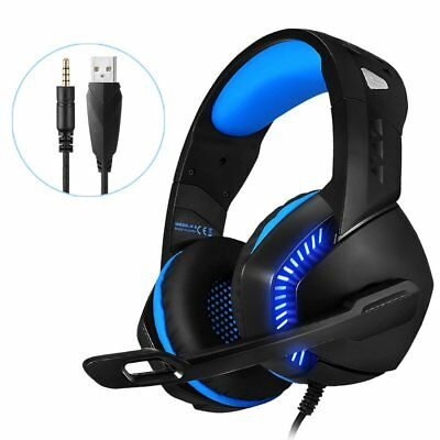 Phoinikas H3 3.5mm Mic Stereo Gaming Headset Headphone for Laptop PS4 Xbox One