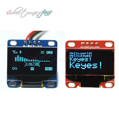 Blue 0.96 I2C Serial 128X64 OLED LCD Display SSD1306 for Arduino STM32 51