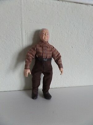 1/12th scale hand made old man    dolls house doll
