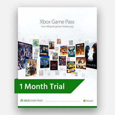 1 Month Xbox Game Pass Trial (Xbox One) - Digital Code