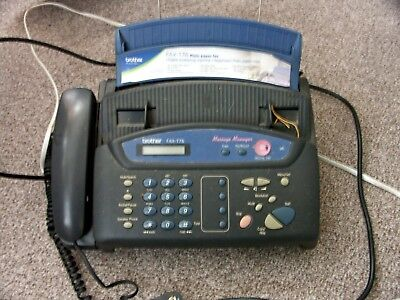 Brother phone fax machine T-76