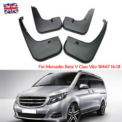 OEM Splash Guards Mud Guards Mud Flaps For Mercedes Benz V Class Vito W447 16-18