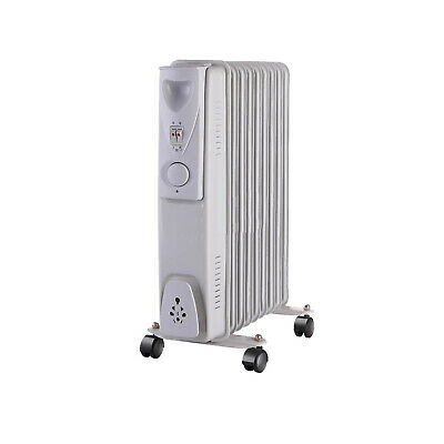 2kW Oil Filled Radiator Heater With 9 Fins