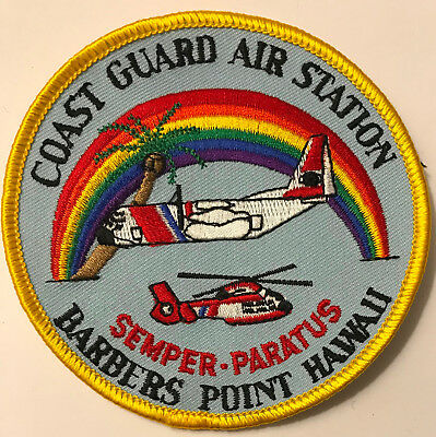 USCG Coast Guard Air Station Barbers Point Hawaii Patch