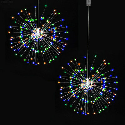 Firework LED Multicolor Copper Wire Strip Fairy String Lights Wedding Decor Xmas