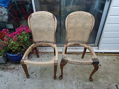 chairs (2) for restoration/re-upholstery