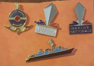 Lot N°19 Pin's marine nationale