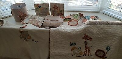 Mama And Papas Nursery Textiles - great condition!