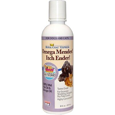Ark Naturals, Royal Coat Express,Omega Mender! Itch Ender!,For Cats & Dogs,237ml