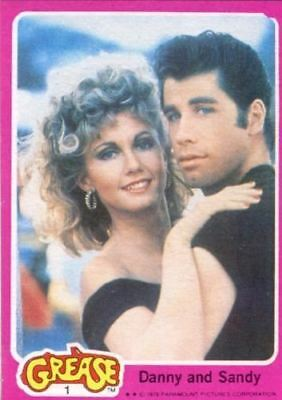 Grease Movie Series 1 Vintage Card Set 66 Cards Topps 1978
