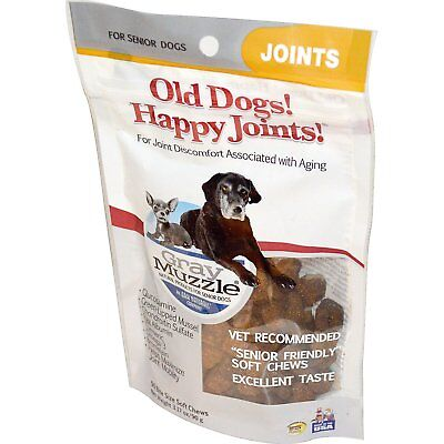 Ark Naturals, Old Dogs! Happy Joints!, Gray Muzzle, Joints, For Senior Dogs,90 g