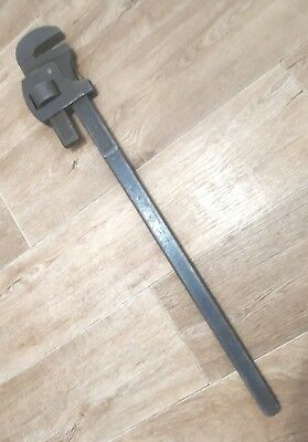 "RECORD 36"" Pipe Wrench / Stilsons Tool Quality Made In England"