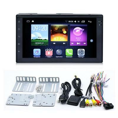 """7"""" HD 2 DIN Android Radio MP5 Player Bluetooth WIFI Navigation GPS Touch Screen"""