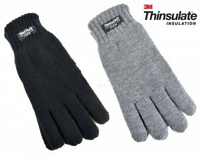 NEW Childrens Kids Boys Girls 3M THINSULATE Thermal Winter Wool Junior Gloves