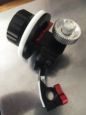 DSLR follow focus reversible and interchangeable (works both sides) Used.