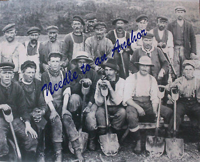 BELL ISLAND WABANA NEWFOUNDLAND MINERS PHOTO - CIRCA EARLY 1900'S - lot 14