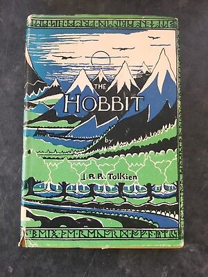 The Hobbit By J R R Tolkien lord of the rings First Taiwan Print 1972 Rare