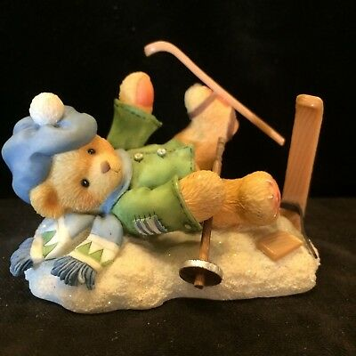 Cherished Teddies Spencer #269743 - I'm Head Over Skis For You