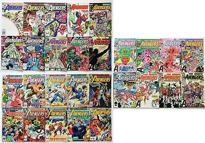 The Avengers Marvel Comics Group Comic Book Lot of 28 1977