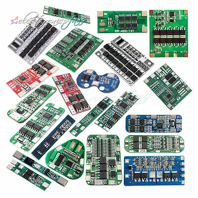 2/3/4/6S Packs BMS PCB Protection Board Li-ion Lithium Battery 18650 Charger